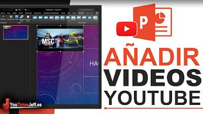 insertar videos de youtube en powerpoint