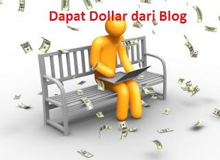 Darimana Blogger mendapatkan Uang