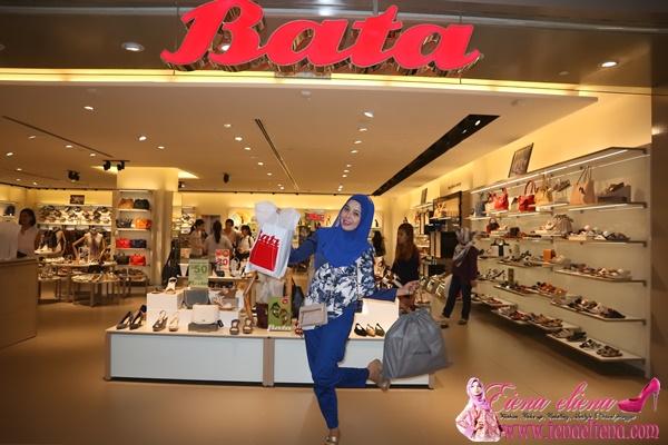 SHOPPING RAYA DI KEDAI KASUT BATA