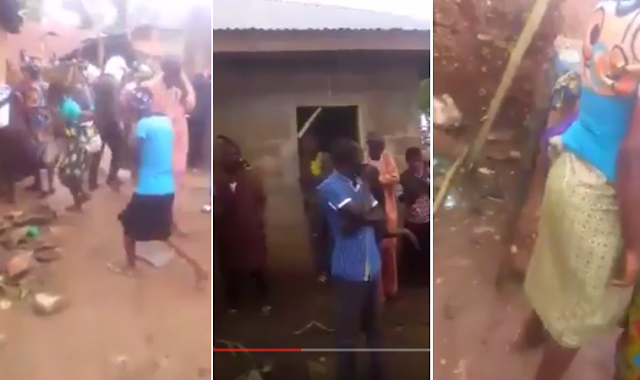 2rJeKGd VIDEO:Another Kidnappers Den discovered in Gbogan, Osun state(Viewers discretion is advised)