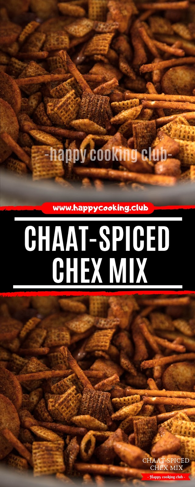 Chaat-Spiced Chex Mix