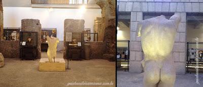 Exposição subeterrâneos Praça Navona
