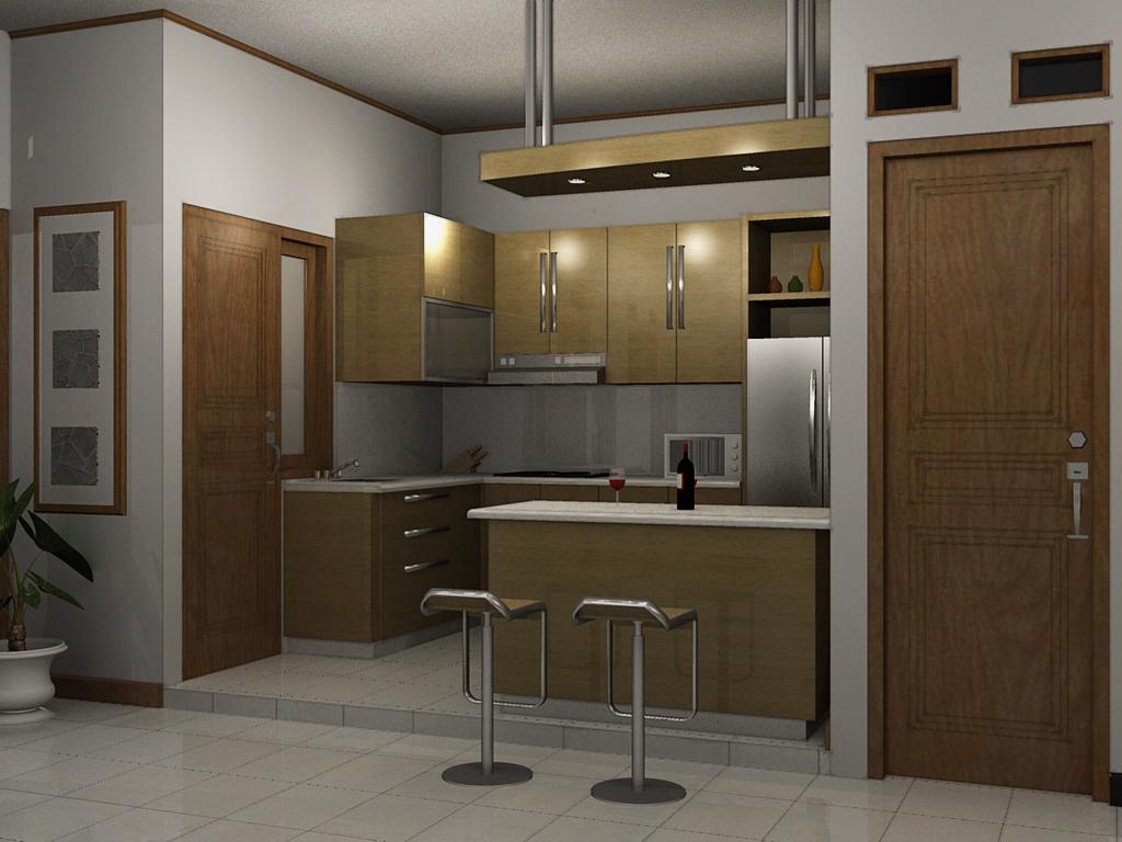 Gambar Desain Lemari Dapur Minimalis Info Rumah