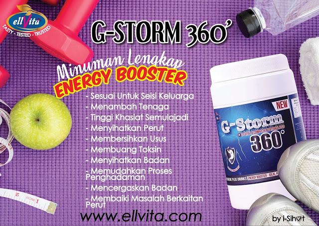 G-Storm 360, Makan Lambat? Pedih Ulu Hati? Gastrik? Atasinya Dengan G-Storm 360, Ellvita, Ellvita G-Storm 360, susu kambing, gastrik, cara atasi gastrik, supplement gastrik, pedih ulu hati, cara atasi pedih ulu hati, rawat gastrik, cara rawat gastrik, cara rawat pedih ulu hati,