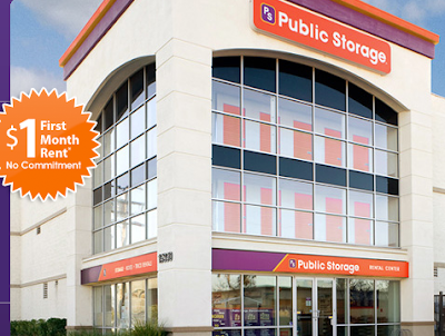 Public Storage - $1 for first month