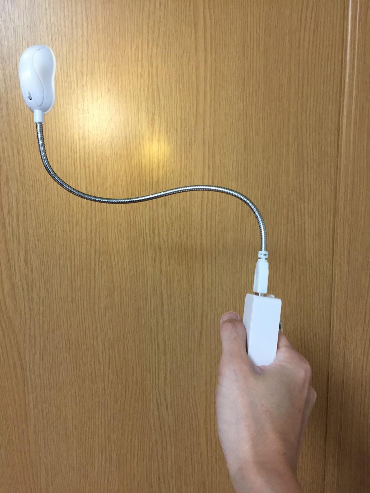 ダイソーで売っているUSB接続のLEDライト