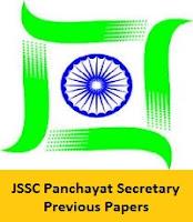 JSSC Panchayat Secretary Previous Papers