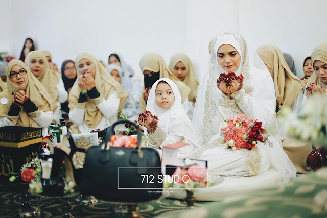 foto Pernikahan Yatt Hamzah dan Mohd Zulfadhli