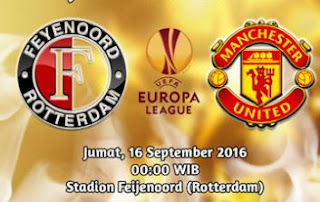 Prediksi Feyenoord vs Manchester United - UEFA Europa League 2016