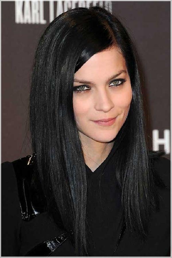 Lange schwarze Frisuren 2018