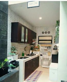 Desain Gambar Dapur Minimalis Model Sederhana