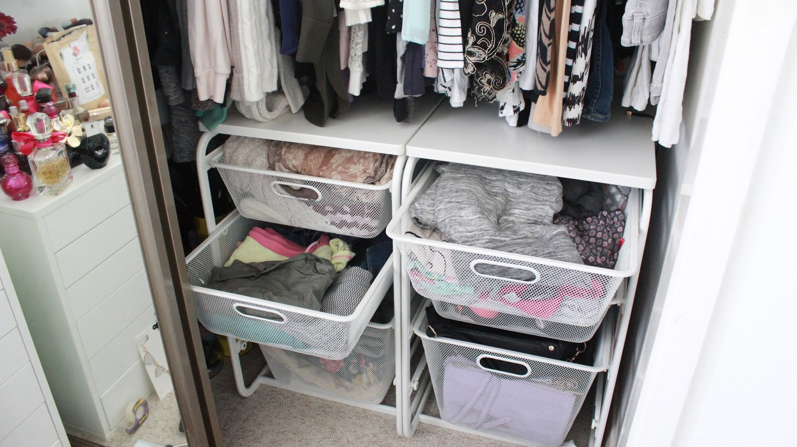Ikea Wardrobe Tidy How To Organise Your Wardrobe Featuring Ikea Algot