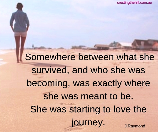 Midlife is a journey into becoming who you are meant to be - rediscovering yourself and refining your relationships.
