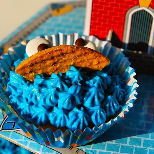 Muffinkowy potwór z Ulicy Sezamkowej