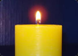 Velas Mágicas - Vela Amarilla