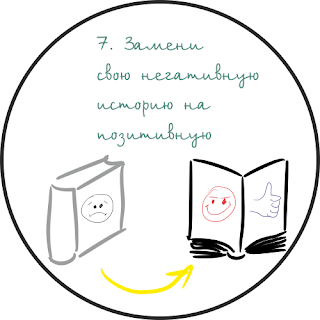 Установка ультрамышления №7: Замени свою негативную историю на позитивную