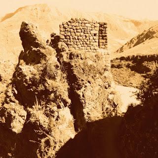 Ruínas Vistas na Trilha de Pisac