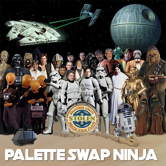 Palette-Swap Ninja mixe «Star Wars» et «Sgt. Pepper» des Beatles