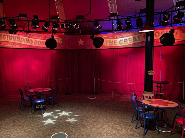 Disney Magic Kingdom Reopening Preview, Relaxation Station at Pete's Silly Sideshow Fantasyland New Safety Precaution and Social-distancing Practice