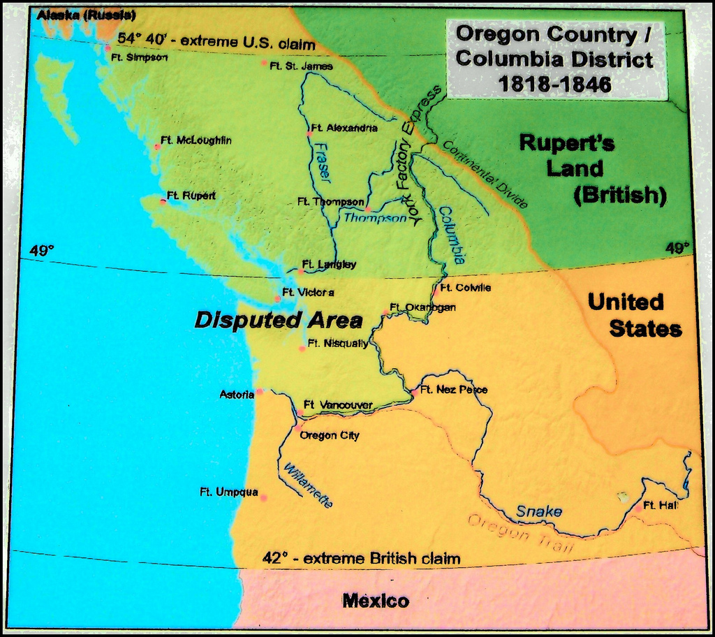Boundary Dispute in Oregon