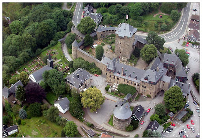 Vista aérea Castillo de Solingen - Schloss Burg