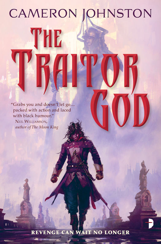Interview with Cameron Johnston, author of The Traitor God