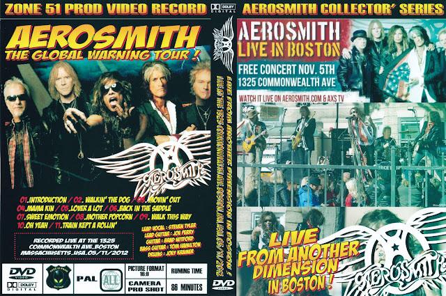 Resultado de imagen de Aerosmith - Live From Another Dimension