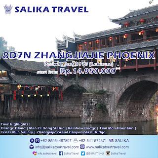 8D7N Zhangjiajie Phoenix Lebaran 2018 - Salika Travel