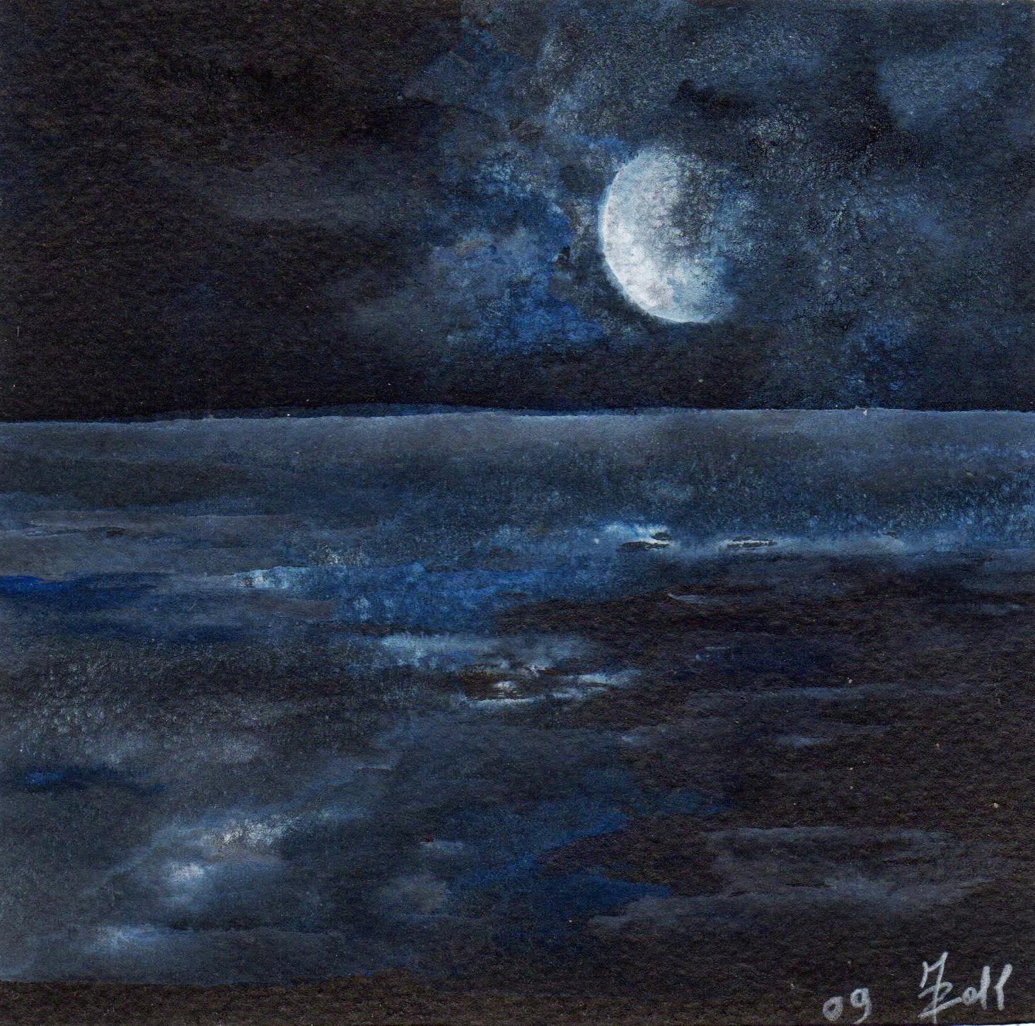 Cronache Di Colori Luna Sul Mare