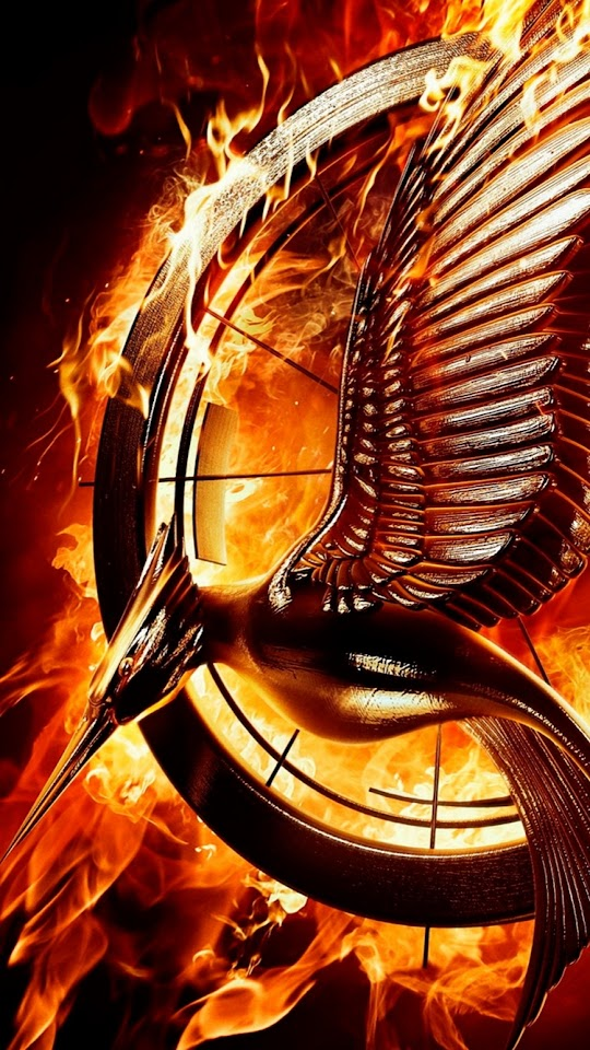 The Hunger Games Catching Fire Sign  Galaxy Note HD Wallpaper