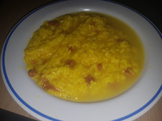 Arooz caldoso con jamon serrano