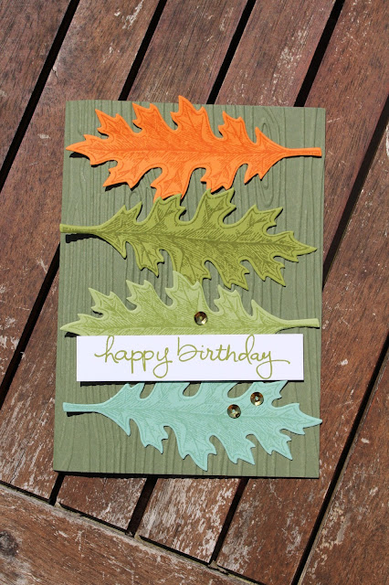 Vintage Leaves, Leaflets Framelits Dies, Stampin' Up!