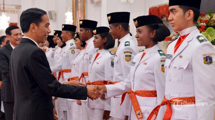 Inilah 67 Anggota Paskibraka 2016 Dari Seluruh Penjuru Indonesia