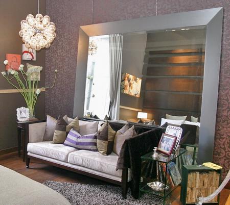 Dormitorio con espejo frente a la cama for Decoracion hogar la plata