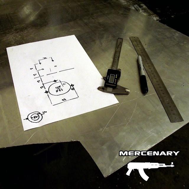 Mercenary Garage GPS Mount