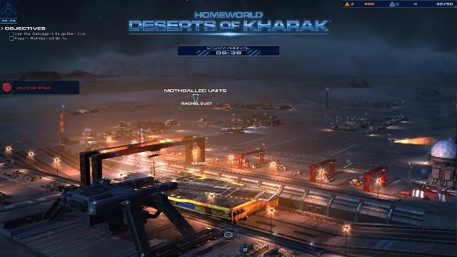 Homeworld Deserts of Kharak PC Gameplay