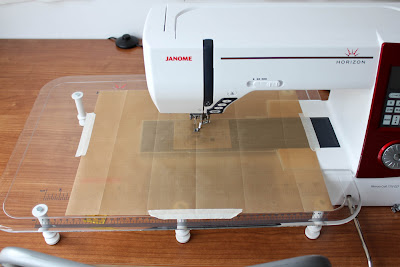 Free Motion Quilting on your home machine - a tip for less friction!