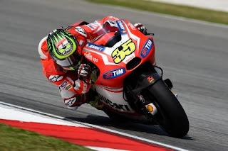 Cal Crutchlow Tercepat FP1 MotoGP Inggris