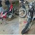 Colisão entre duas motocicletas deixa uma vitima fatal em Martins no RN, e outra em estado Grave.