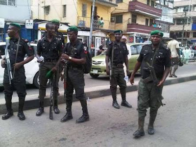 Big Woman Posing As Immigration Officer Arrested In Lagos For S*x Slavery
