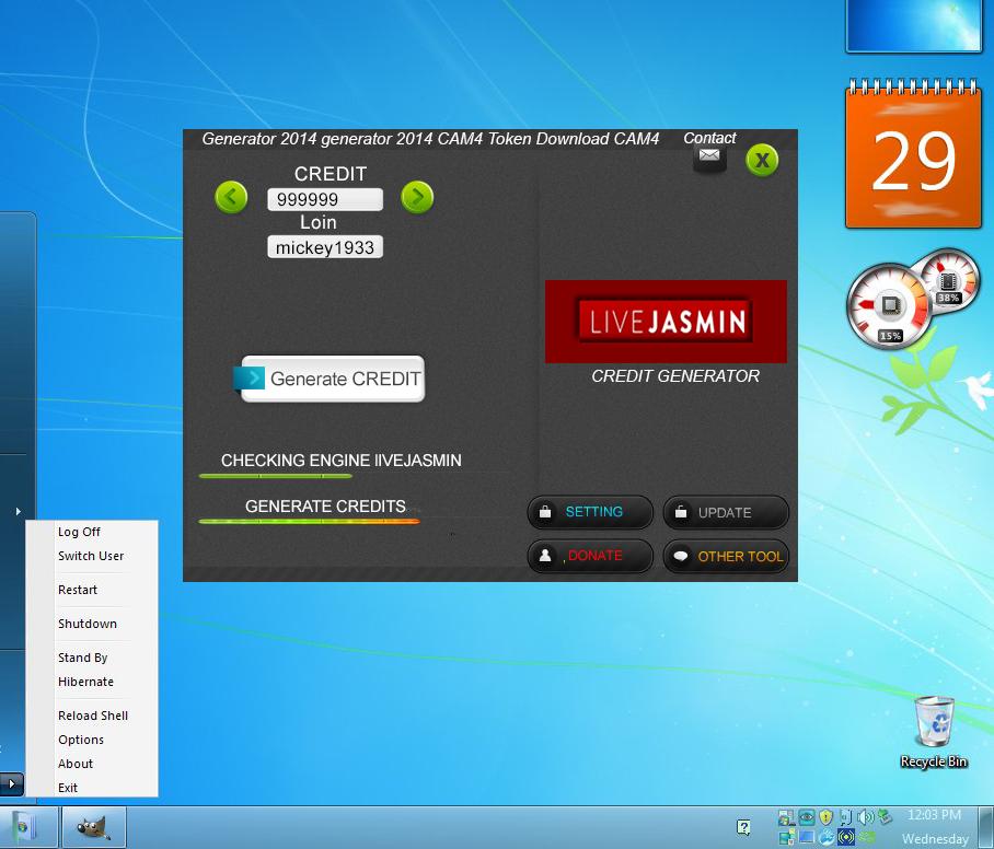 Livejasmin credit hack adder