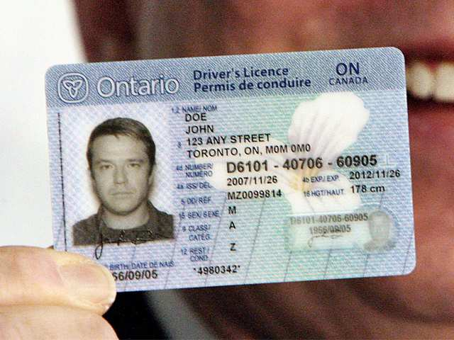 drivers license issue date ontario