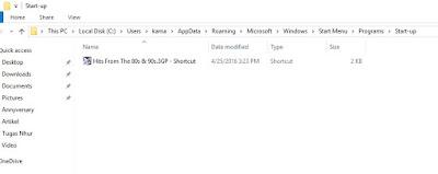 Cara Membuat Program Berjalan Otomatis di windows