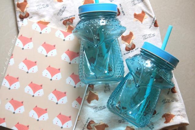 Fox Animal Quirky Mason Jars