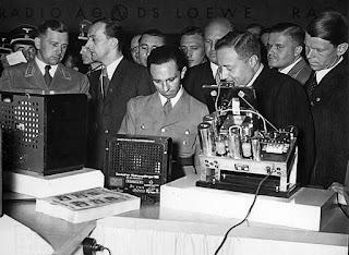 Joseph Goebbels, el ideólogo de la propaganda nazi.