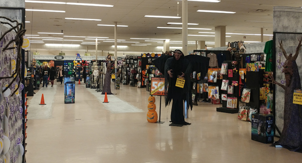 Acme Style: Burlington Acme is now Halloween Spirit!