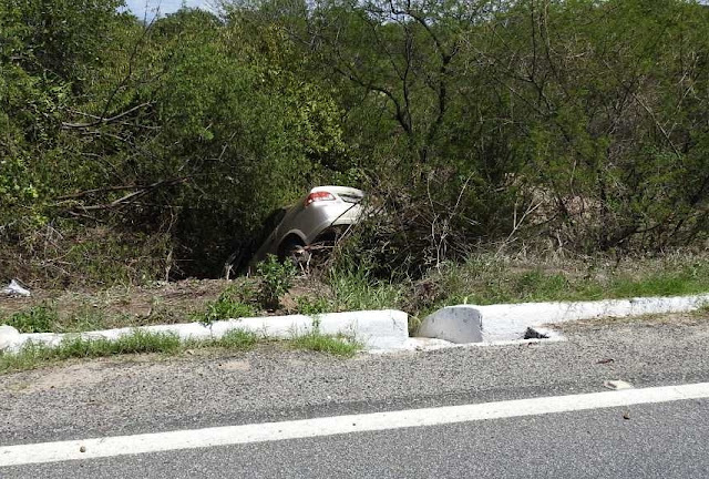 Acidente é registrado na BR 361, em Santa Terezinha (PB