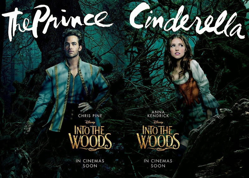 Into the Woods movie posters