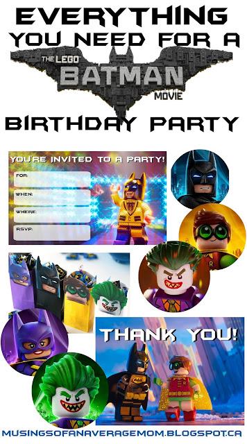 Lego Batman Birthday Ideas