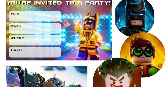 Everything you need for a Lego Batman Party